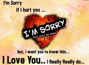 Sorry Whatsapp Status | Being