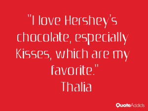 love Hershey 39 s chocolate especially Kisses which are my favorite