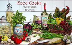 Good Cooks Never Lack Friends