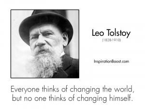 Leo Tolstoy Famous Quotes