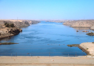 River Nile, the longest river of the world is in Africa