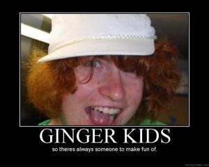 Funny ginger kids