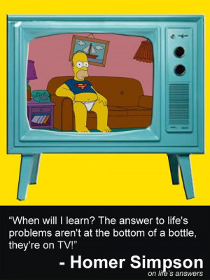 11 Best Homer Simpson Quotes About Movies and Television