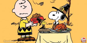 It's Thanksgiving, Charlie Brown