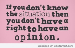Importance of Situations - 7 Quotes about Not Letting Other's ...