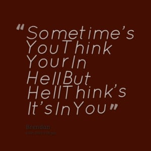 Quotes About: Hell Quote