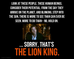... enjoyed it s a quote from doctor who during the tenth doctor s tenure