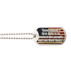 Anti Liberal Gifts > Anti Liberal Jewelry > Ronald Reagan Quotes Dog ...