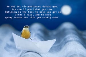 Keep going optimistic picture quote