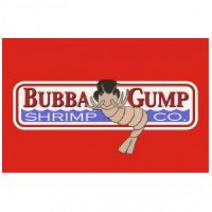 ... the vector logo of the Bubba Gump Shrimp Co. brand designed