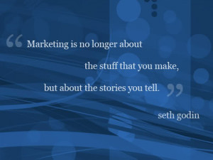 Storytelling techniques quote