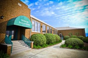 The Oconee Senior Center...