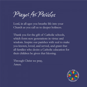 Catholic Schools Week 2014 - For Our Parishes