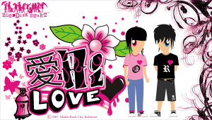 Love Emo Cartoons Emo love by suicidemary