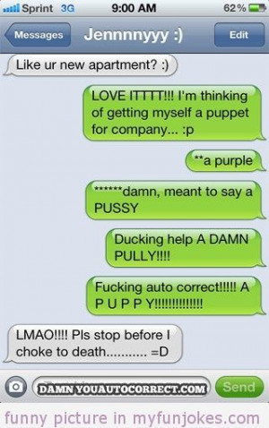 Autocorrect fail Puppy — funny dirty jokes one liners - #humor #joke ...