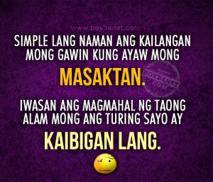 Quotes For Friendship Tagalog Friendship Quotes Tagalog And