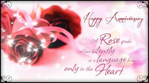 Rose Speaks Happy Anniversary Quotes