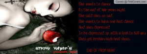 Snow White's Poison Bite Profile Facebook Covers