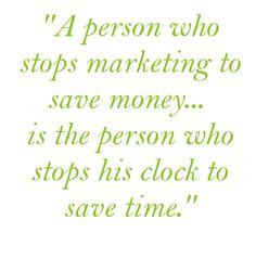 Marketing/Business Quotes