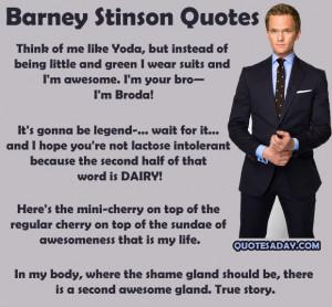 funny quotes barney stinson