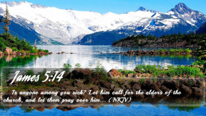 James 5:14 - Bible Verse Quote by bible-quote