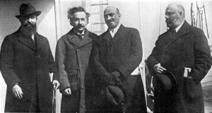 Einstein and 'leaders of the World Zionist Organization' from 1921