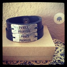... Bracelets for Couples, Custom Bracelet His and Her, Leather Couples