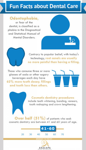 Fun Facts about Dental Care Infographic