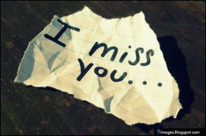 Miss You Cute Quotes I miss you