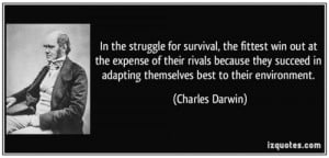 Social Darwinism Survival Of The Fittest Charles darwin