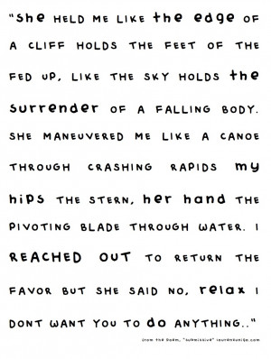 Excerpt from Submissive