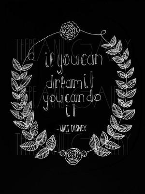 walt disney quote waltdisney walt disney quotes inspiration art prints ...