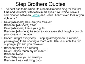 Step Brothers Quotes Quotesgram