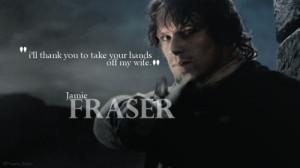 Jamie Fraser – Hero.