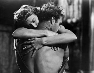 Vivien Leigh and Marlon Brando in