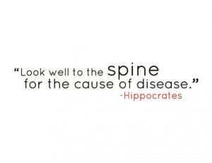 Hippocrates Quotes Spine Adhesive vinyl quotes