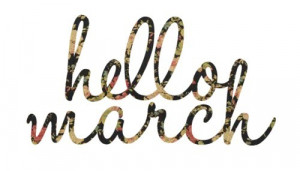 welcome march march 1
