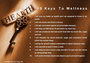 Healthy Lifestyle – The Keys To Wellness