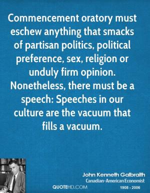 must eschew anything that smacks of partisan politics, political ...