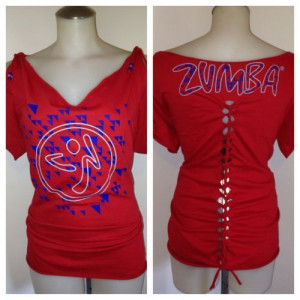 ME T SHIRT IN PINK/RED CUSTOMIZED STYLE ***CUTE****: Fun Zumba, Zumba ...