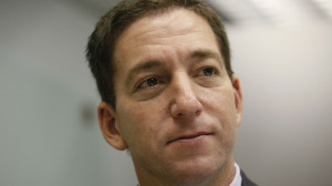 Glenn Greenwald, a reporter of The Guardian newspaper, speaks during ...