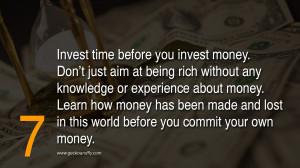 10 Golden Rules on Money Money Money