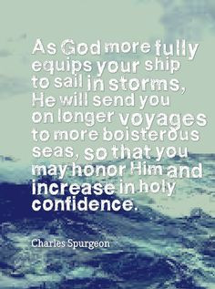Charles Spurgeon quote SO TRUE! THANK YOU, LORD!