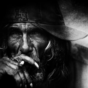 homeless, skid row in Los Angeles...Photo by Lee Jeffries....