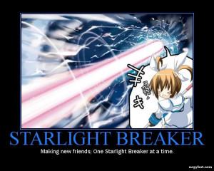 Nanoha's Starlight Breaker