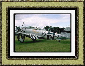 Repulbic P-47-D Thunderbolt in the colors of Major Frederick Blesse ...