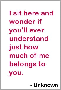 Crush and Love Quotes