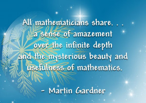 Beautiful and Inspirational Math Quotes