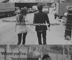Favorite Quotes / growing old together