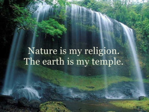 beauty religion Pantheism nature worship